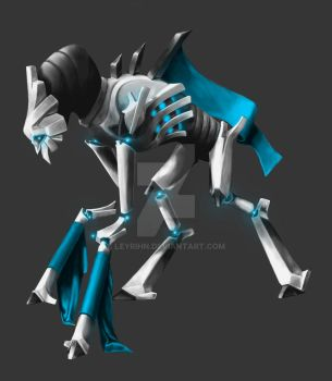 Bone Robot by Leyrihn