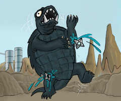 Gamera by killb94