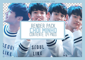 O1 | Choi Minho - SHINee (Pack PNG) by crxoked