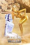 R2D2 and C-3PO by OniksiyaSofinikum