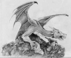 Smaug by jasterslegacy