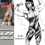 Mighty Michelle Lee Gale By IronLion1982 by zenx007