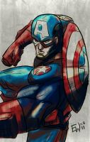 Captain America - CAA by EryckWebbGraphics