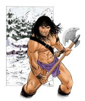 Conan 01 Colored by renonevada
