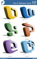 Dre-S Software Icons 10 by piscdong