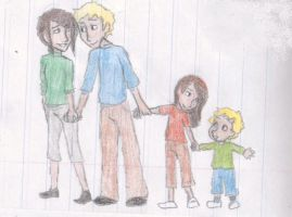 Katniss and Peeta's children by MissySerendipity