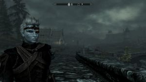 My new Skyrim character by Ask-Fangthevampire