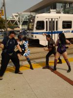 Stryker Kitana VS Kano Mileena by dante-is-god