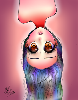 Upside Down by Damianne-Violet