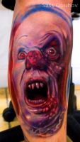 Pennywise Clown by sass-tattoo