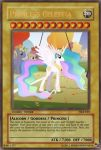 Princess Celestia Yu-Gi-Oh Card by PokeMarioFan14