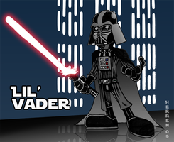 Lil' Vader by herrenmedia