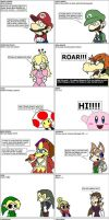 Brawl I - Super smash bros 4 by The-DCE