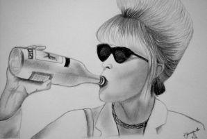 My name is Patsy Stone. I'm an alcoholic. by inkandstardust