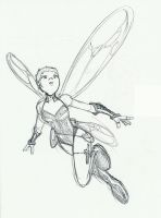 Pixie Sketch by Sideways8Studios