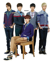 PNG : B1A4 by chazzief