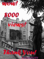 8000 views THANK YOU by mad-faerie104