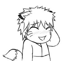 Bashful Naruto is bashful by RAKASHA3