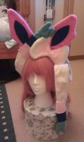 Sylveon headpiece by Blueberry-Tale