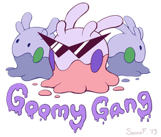 Goomy Gang by SunnieF