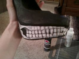Creature Shoes WIP by Romereloh