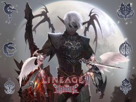 Lineage II wallpaper by omegakenshin