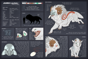 Shinlai Character Reference: Aysu by IrisHime