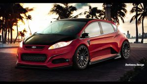 DD - Ford Fiesta Quick by DarknessDesign