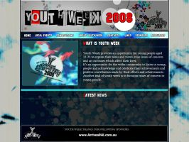 Youth Week Website Design by AssasinXXX