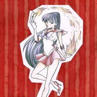 Decorative Paper - Sailor Mars by KrisRix
