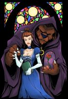 Beauty And The Beast Colors by MattFranklin