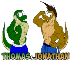 Thomas and Jonathan by McTaylis