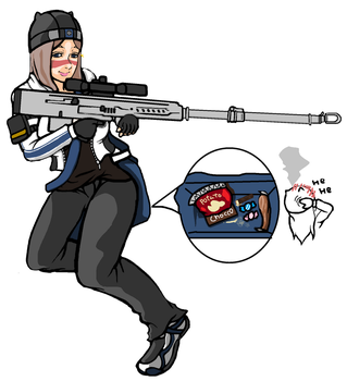 Dirty Bomb Aimee by ilageater