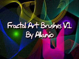 Fractal Art Brushes V1 by Allanio