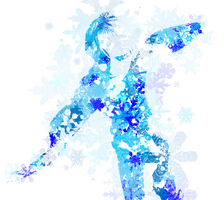 Jack Frost Snowflake Graphics by HollysHobbies