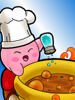 Cook Kirby by AzureShinobi