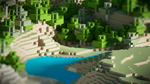 Minecraft wallpaper by bezo97