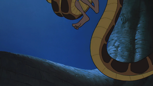 Mowgli gets crushed by Kaa by Swedishhero94