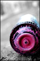 pink cans by RUCgost