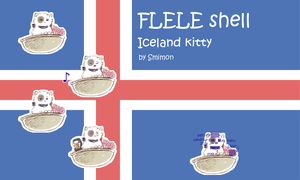 Iceland Kitty FLELE shell by Smimon