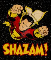 SHAZAM by michaelharris