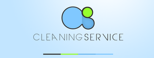 Cleaning service logo concept by lpzdesign