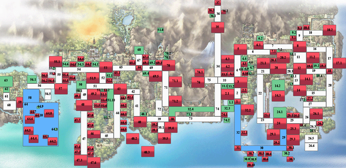 PGP Base Kanto-Johto Map by zetavares852