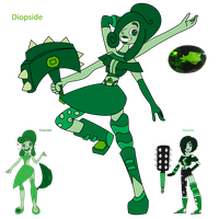 Diopside Fusion by Keytee-chan