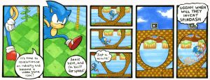 NER: Green Hill Zone, Act 1. by taeshilh
