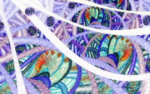 Psychedelic Tubules by ineedfire
