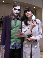 Slit Mouth Woman and Joker by Isaribi123