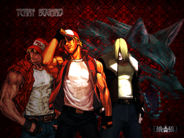 OLDTerry Bogard Wallpaper by Apathetic-Piggy
