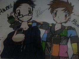 elrubius omg and mangel by marieldy