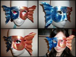 Decorative Koi Mask by Jedi-With-Wings